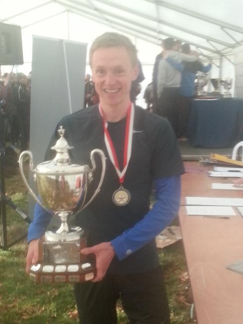 Steve Vernon wins National Cross Country