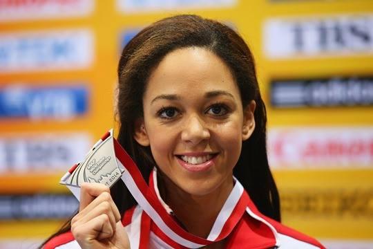Katarina Johnson-Thompson sets new NoE League record
