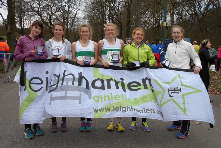 NA Women 6 Stage Road Relays Championships 2014 Heaton Park