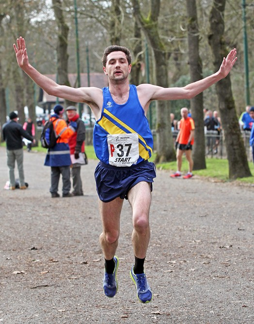 NA 12 Stage Road Relay Championship 2014 Heaton Park