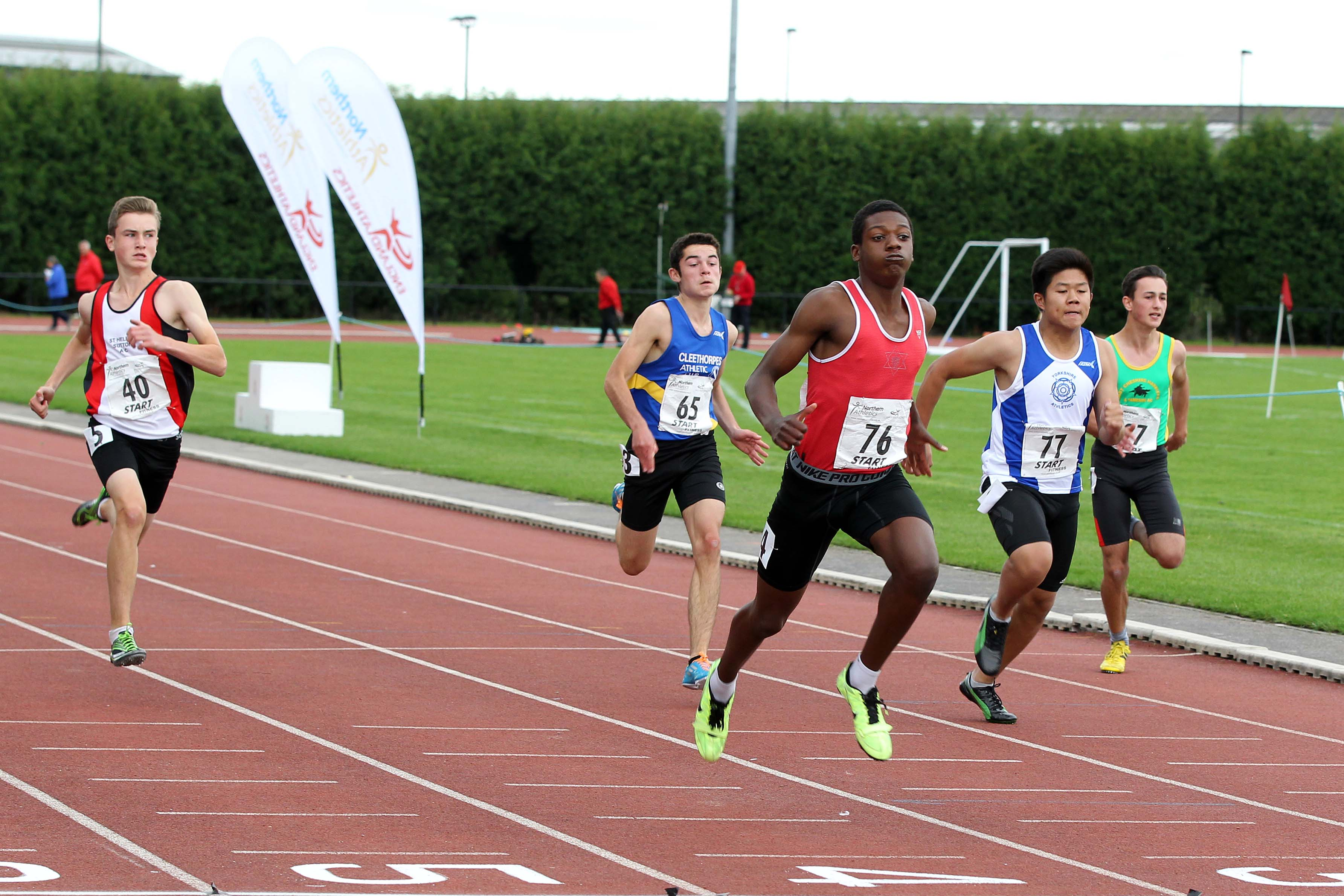 Northern Athletics Under 17 Championships Day 1 Report