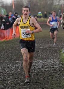 Andrew Davies 2015 Northern Athletics Cross Country Champion