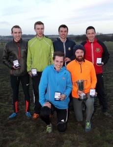 Morpeth Harriers winning team senior men's championship