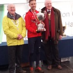 Charlie Hulson with National Trophy