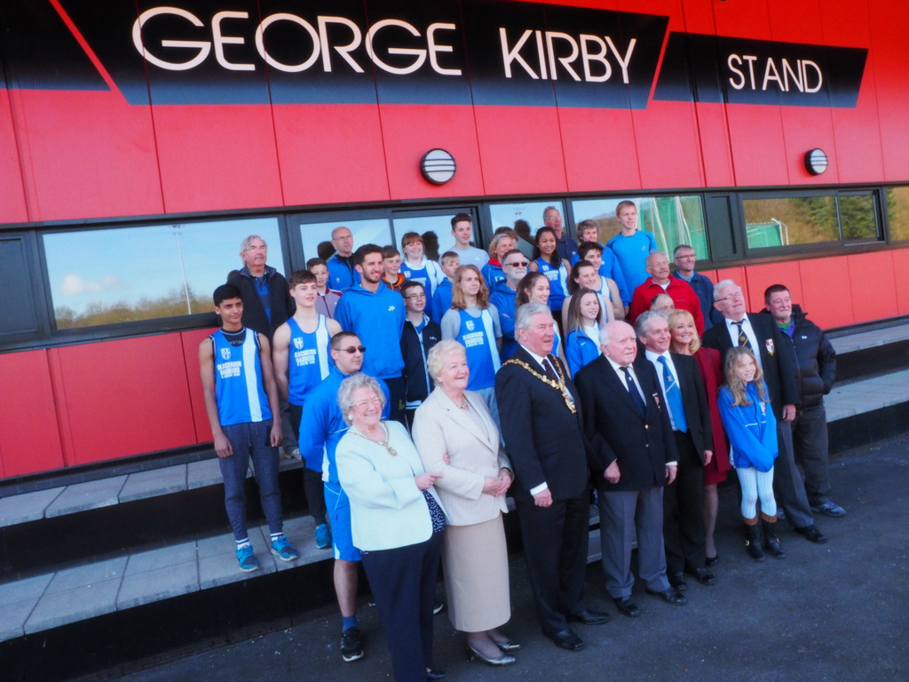 George Kirby Stand at Witton Park.