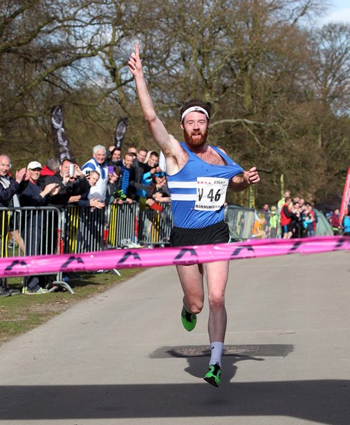 Richard Morrell brings Morpeth home to victory in the National 12 stage at Sutton Park