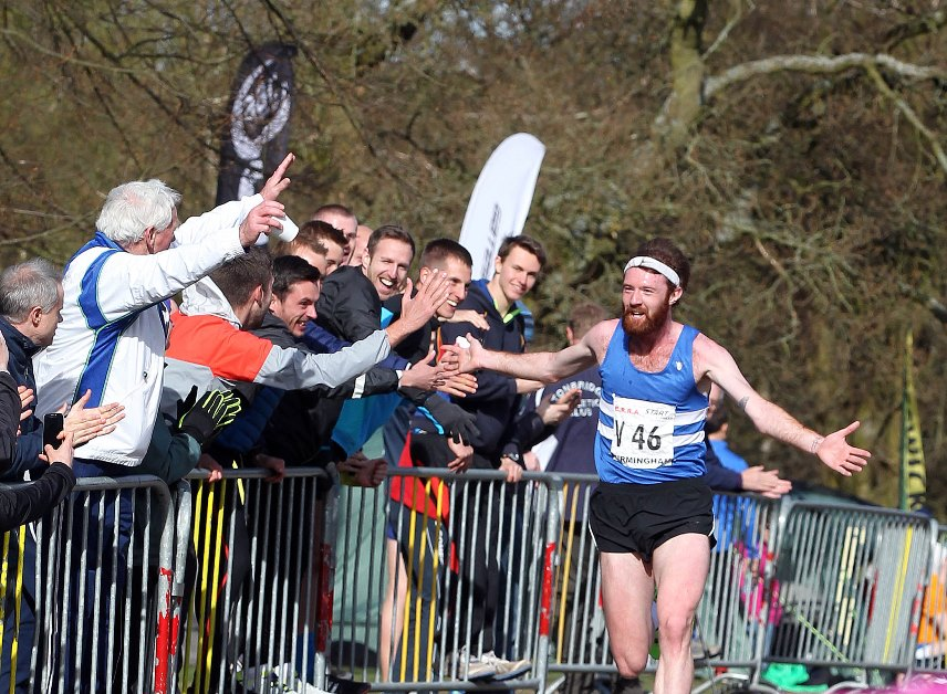 The celebrations have already started as Richard Morrell come home to lift Morpeth's first national 12 stage title