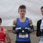 Cameron Bell, Scott Beatie, Hugo Miller medal winners in under 17 men's race