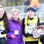 Victorious Liverpool Harriers under 15 girls team