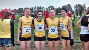 Catrina Thomas(27), Philppa Stone(30), Mollie Williams(28) and Rosie Johnson(29)