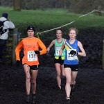 Rosie Smith, Sarah Tunstall and Claire Duck battle it out