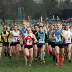 Under 17 women get away at 2016 Northern Cross Country Championships