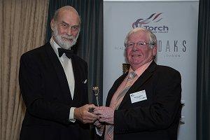 Top award for Malcolm Fletcher