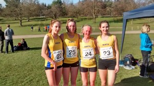 NA Jnr Women Team at Home Int March 2016