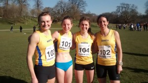 NA Snr Women Team at Home Int March 2016