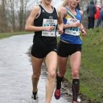 Samantha Johnson (Rotherham Harriers and AC) and Emma Clayton