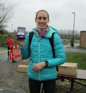 Laura Weightman Fastest short leg