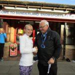 Alexandra Smith with Bill McGuirk