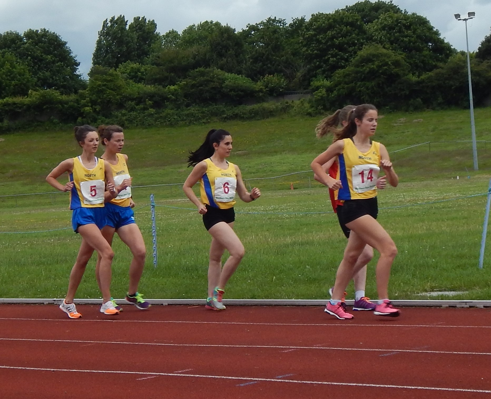 Inter Area Race Walking Match Results 2016