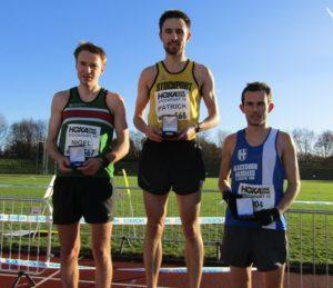 1st Pat Martin, 2nd Nigel Martin, 3rd Chris Arthur,
