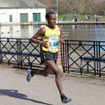 Dejene Gezimu fastest long leg