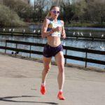 Emma Clayton fastest short leg