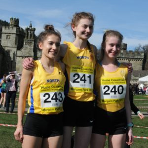 Imani Wilson, Sarah Stockman, Hannah Delaney.