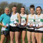 Leigh Harriers bronze medal winners