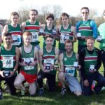 2017 NA 12 Stage road relay champions Sale Harriers