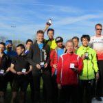 Salford Harriers bronze medal winners
