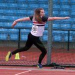 Jenny Pyatt under 20s discus winner