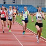 Philippa Stone wins under 20s 1500m
