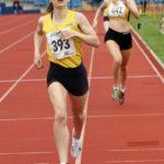 Emma Alderson under 20s 800m champion