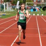 Sam Worthington (Sale Harriers) wins mens under-17s 300 metres, Northern Under-17s/U-15s and U13s Champs, Leigh Sports Village, Leigh. Photo: David T. Hewitson/Sports for All Pics