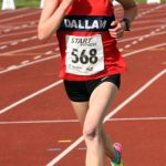 Rosie Woodhams (Dallam RC) winner of the womens under-17s 3000 metres, Northern Under-17s/U-15s and U13s Champs, Leigh Sports Village, Leigh. Photo: David T. Hewitson/Sports for All Pics