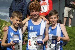 Blackburn Harriers Under 15s Champions