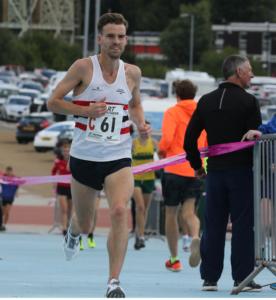 Shane Robinson fastest man for Lincoln Wellington