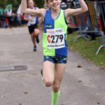 Vale Royal come home to victory in the girls under-13s 3 stage road relay, 2017