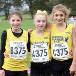 Liverpool Harriers winners of the girls under-15s
