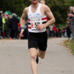 Joe Wilkinson brings Lincoln Wellington home for 3rd place in the senior mens 6 stage road relay, 2017