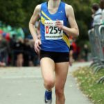 Lucy Crookes bring Leeds City AC home for 2nd place in senior womens 4 stage road relay,