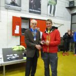 2nd Man James Douglas of Border Harriers with Kevin Carr