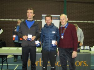 2nd team Blackburn Harriers with NA President Kevin Carr