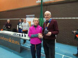 3rd Lady Kirsty Longley of Liverpool Pembroke & Sefton with NA President Kevin Carr