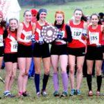 Salford Under 15 Girls championship team
