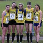 Liverpool Harriers Under 17 women team silver medal winners