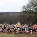 Start of the senior mens 2018 Northern Cross Country Champs., Harewood House, Leeds. Photo: David T. Hewitson/Sports for All Pics