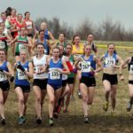 Early stages of the senior womens 2018 Northern Cross Country Champs., Harewood House, Leeds. Photo: David T. Hewitson/Sports for All Pics
