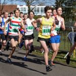 Start of the boys under-15s Northern Athletics 5k Champs., Birkenhead Park. Photo: David T. Hewitson/Sports for All Pics