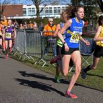 Start of the girls under-15s Northern Athletics 5k Champs., Birkenhead Park. Photo: David T. Hewitson/Sports for All Pics